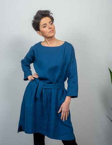 Dress MONICA blue