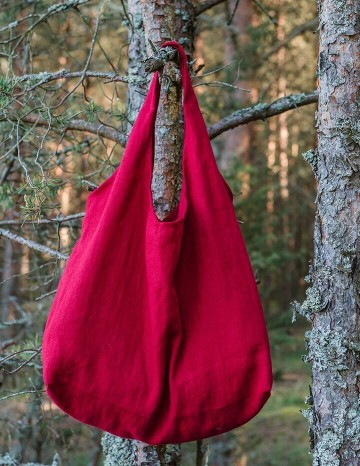 Bag BERTHA red