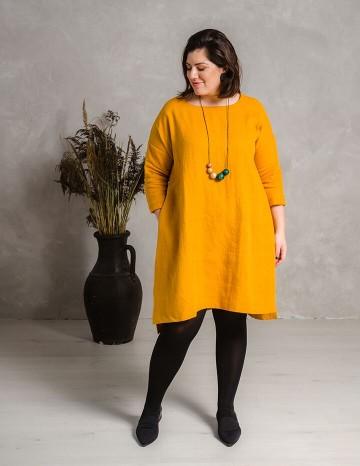Kleit MONICA kollane