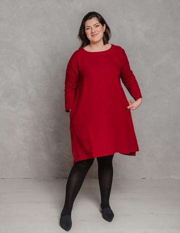 Kleit MONICA punane