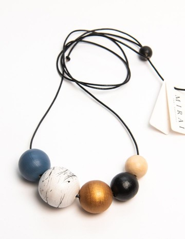 Necklace TREND indigo